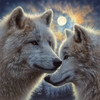 Moonlight Mates - 500pc Jigsaw Puzzle by Sunsout