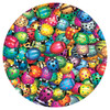 Beetlemania - 500pc Round Jigsaw Puzzle By Sunsout