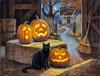 Cat o Lantern - 500pc Jigsaw Puzzle By Sunsout