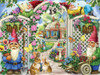 Springing Up Gnomes - 550pc Jigsaw Puzzle by Vermont Christmas Company