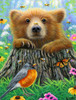 Bee Happy - 300pc Large Format Jigsaw Puzzle By Sunsout