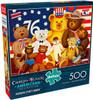 Wysocki: Patriotic Stuffy Bunch - 500pc Jigsaw Puzzle by Buffalo Games