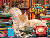 Academic Cats - 750pc Jigsaw Puzzle by Buffalo Games
