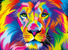Vivid: The King - 1000pc Jigsaw Puzzle by Buffalo Games