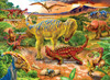 Dinosaur Adventure - 100pc Jigsaw Puzzle by Buffalo Games