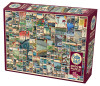 100 Famous Views of Edo - 2000pc Jigsaw Puzzle By Cobble Hill
