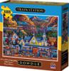 Train Station - 1000pc Jigsaw Puzzle by Dowdle