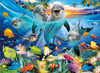 Playful Dolphins - 1000pc Jigsaw Puzzle by Cra-Z-Art
