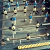 Frame Me Up: Foosball - 250pc Jigsaw Puzzle by Clementoni