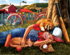 Break Time - 500pc Jigsaw Puzzle by Sunsout