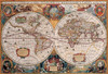Antique World Map - 2000pc Jigsaw Puzzle by Eurographics