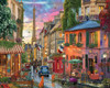 Paris Sunset - 1000pc Jigsaw Puzzle By White Mountain