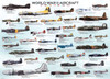 WWII Aircraft - 500pc Jigsaw Puzzle by EuroGraphics