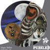 Indigenous Collection: Shape Shifter - 500pc Round Jigsaw Puzzle by Canadian Art Prints