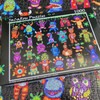 25 Little Monsters and 1 Chicken - 1000pc Jigsaw Puzzle by JaCaRou