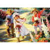 Flower Tots: Giddy Up - 500pc Jigsaw Puzzle by Holdson