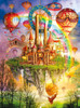 Above the Clouds - Holographic  - 1000pc Jigsaw Puzzle by Lafayette Puzzle Factory