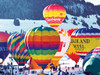 Hot Air Balloons, Switzerland - Colorluxe  - 500pc Jigsaw Puzzle by Lafayette Puzzle Factory