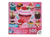 Cupcakes Multipack - 500pc Shaped Jigsaw Puzzle by Lafayette Puzzle Factory