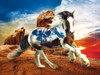 Into the Sunset -  Heavenly Horses  - 300pc Jigsaw Puzzle by Lafayette Puzzle Factory
