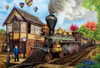 All Aboard - 1000pc Jigsaw Puzzle by Lafayette Puzzle Factory