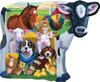 Farm Friends Shaped - 100pc Shaped Jigsaw Puzzle by Masterpieces