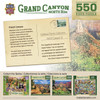 Grand Canyon North Rim - 550pc Jigsaw Puzzle by Masterpieces