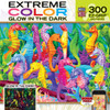 Extreme Color: Singing Seahorses - 300pc EZ Grip Glow-in-the-Dark Jigsaw Puzzle by Masterpieces