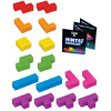 Tetris Brainteaser Cube - 16pc 3D Assembly Puzzle