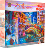 Reflections: Masquerade Ball - 750pc Foil Jigsaw Puzzle By Masterpieces (discon)