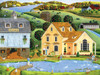 Town & Country: White Duck Inn - 300pc EZ Grip Jigsaw Puzzle by Masterpieces