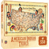 American Indian Tribes - 550pc Jigsaw Puzzle by Masterpieces