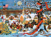 Charles Wysocki: HOLIDAY- Small Town Christmas - 1000pc Jigsaw Puzzle by Buffalo Games (discon)