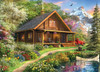 Time Away: Mountain Retreat - 1000pc Jigsaw Puzzle by Masterpieces