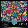 Vivid: Butterflies - 1000pc Jigsaw Puzzle by Buffalo Games