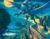 Harry Potter: Rescue of Sirius - 100pc Mini Jigsaw Puzzle by New York Puzzle Company