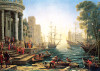 Perre Jigsaw Puzzles - Seaport With the Embarkation of St. Ursula