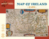 Pomegranate Map of Ireland: 1599 500-piece Jigsaw Puzzle