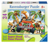4-Wheeling - 24pc Floor Puzzle By Ravensburger