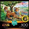 Amazing Nature: Hidden Tigers - 500pc Jigsaw Puzzle by Buffalo Games