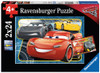 Cars: I Can Win! - 2 x 24pc Jigsaw Puzzle by Ravensburger