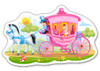 Princess in a Carriage - 15pc Jigsaw Puzzle By Castorland (discon-23973)