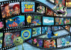 Pixar: Disney-Pixar: Movie Reel - 1000pc Jigsaw Puzzle by Ravensburger