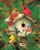 Springbok Jigsaw Puzzles - Feathered Retreat