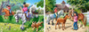Horse  Riding - 70,120pc Jigsaw Puzzle By Castorland (discon-23999)