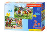 Riding Horses - 165pc & 300pc Multipack Jigsaw Puzzles By Castorland (discon)