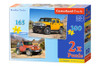 Roadless Tracks - 165pc & 300pc Multipack Jigsaw Puzzles By Castorland (discon-24001)
