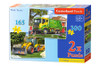 Work Trucks - 165pc & 300pc Multipack Jigsaw Puzzles By Castorland (discon)