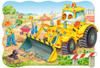 Bulldozer in action - 20pc Jigsaw Puzzle By Castorland (discon-24004)