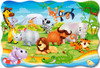 African Animals - 20pc Jigsaw Puzzle By Castorland (discon-24010)